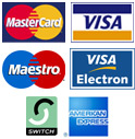 Credit and Debit card facilities now available.