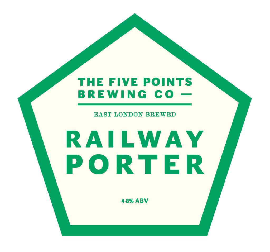 Five points railway porter egham real ale cider festival for Porte 5 points